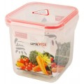 BPA Free 850ml Square Food Storage Container