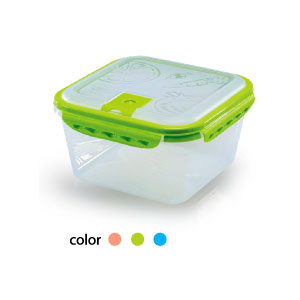 VacSense Square 3700ml Vacuum Food Storage Container