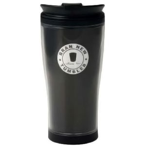 Black 530ml Travel Coffee Mug - BPA Free