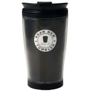 Black 430ml Travel Coffee Mug - BPA Free