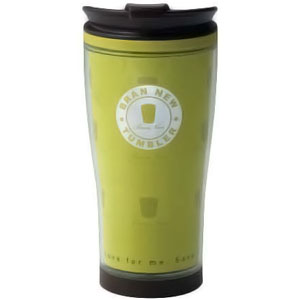Green Blue 530ml Travel Coffee Mug - BPA Free