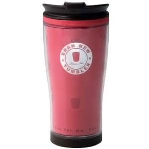 Pink 530ml Travel Coffee Mug - BPA Free