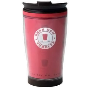 Pink 430ml Travel Coffee Mug - BPA Free